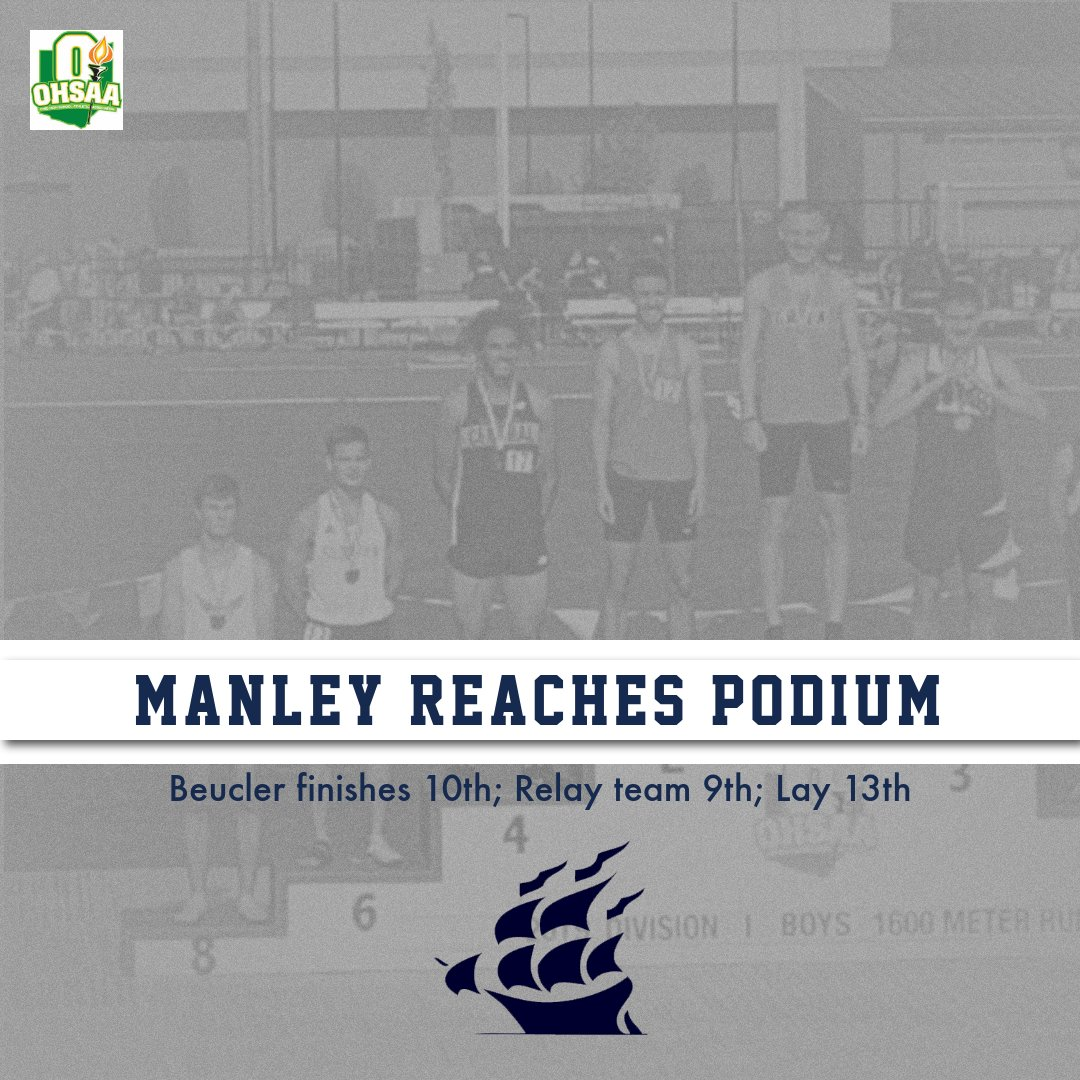Manley Reaches Podium; Relay Team 9th; Beucler 10th; Lay 13th!