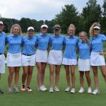 Girls Varsity Golf finishes 2nd place at Suburban League Tournament 1