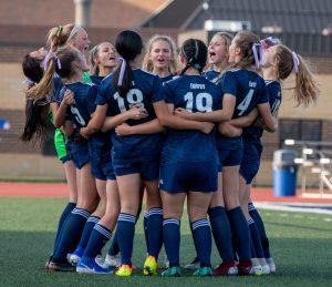 Hudson Girl's Soccer Wins Season Opener Over North Olmsted