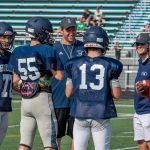 Images From Hudson's Football Scrimmage At Mayfield