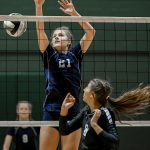 Hudson Volleyball Defeats Aurora In Season Opener