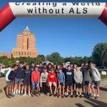 Athletes Volunteer at ALS Walk