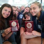 Girls Cross Country finishes 4th at Boardman Spartan Invitational