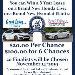 HABC Car Raffle!  Win a 3-year lease!