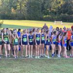 Girls Cross Country finishes 2nd at Stow Bulldog Invitational
