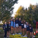 Girls Cross Country finishes 1st at Suburban League Meet