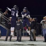 Football picks up league win on Senior Night