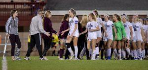 Images From Hudson Girls Soccer @ Walsh Jesuit