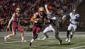 Images From Hudson Football's 45-29 Win Over Stow
