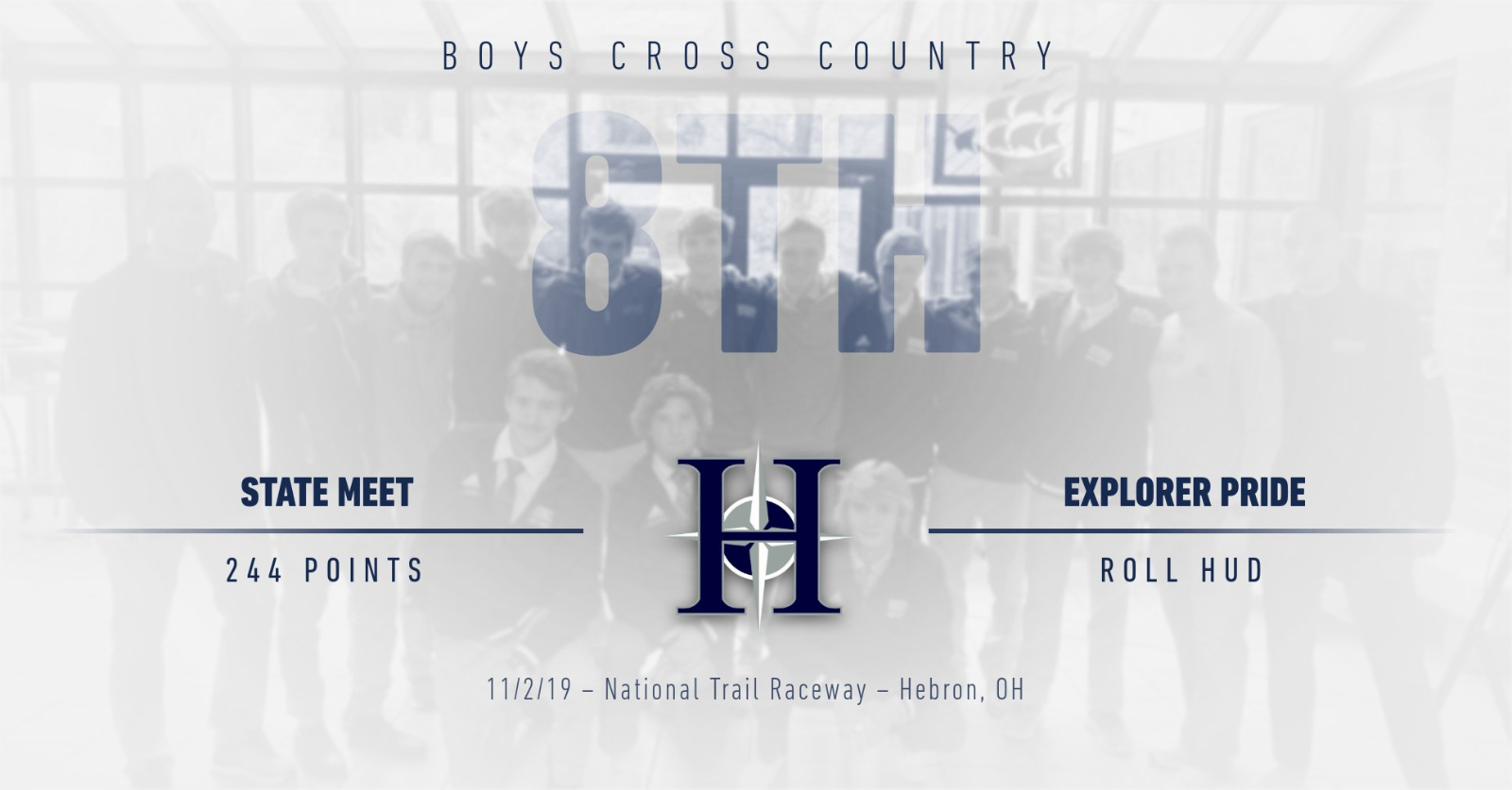 Boys Cross Country finishes 8th at State Meet