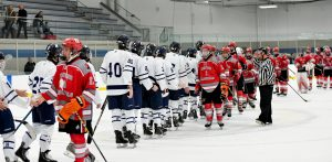 Images From Hudson Hockey's Battle With Mentor