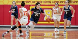 Images From Hudson Girls Basketball's 61-43 Win Over Brecksville