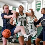 Images From Hudson Girls Basketball's Battle With Nordonia