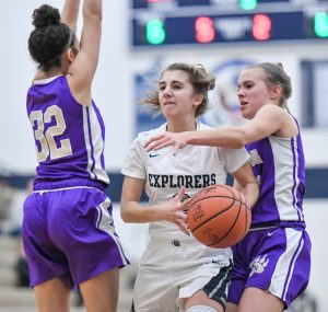 Images from Hudson Girls Basketball's Win Over North Royalton