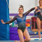 Gymnastics Earns Top Spot at Nine-Team Meet