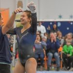 Gymnastics finishes 1st at Mentor