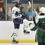 Ice Hockey with Big Win over Shaker Heights