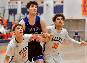 Images From Hudson Boy's Basketball @ Akron Ellet