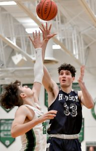 Images From Hudson Boys Basketball's Win Over Mayfield