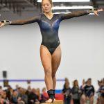 Gymnastics finishes 7th at Legends Meet
