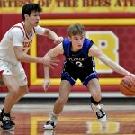 Images from Hudson Boys Basketball's Double OT Win Over Brecksville