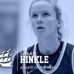 Sarah Hinkle – Athlete of the Week