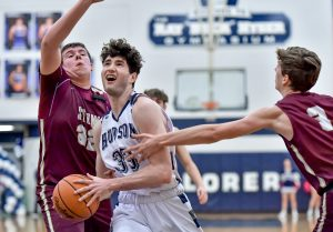 Images From Hudson Boys Basketball vs Stow