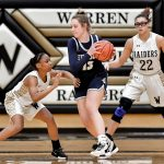 Images From Hudson Girls Basketball @ Warren Harding