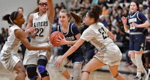 Images From Hudson Girls Basketball @ Warren Harding
