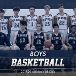 Boys Basketball – OHSBCA Academic Award