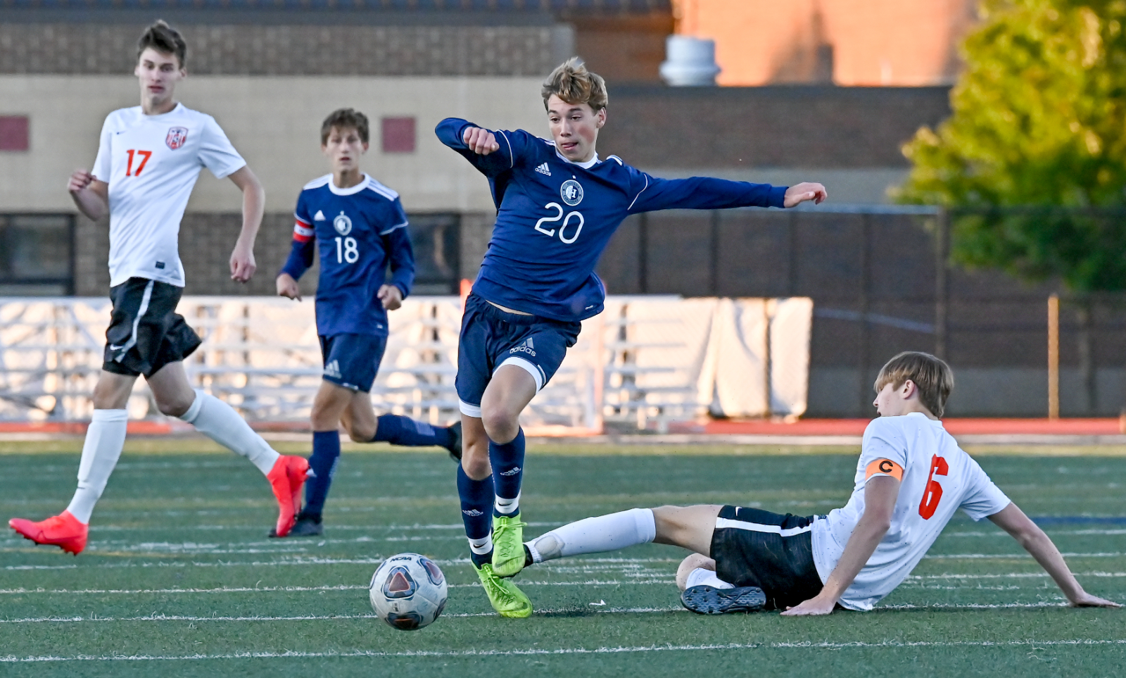 Images From Hudson Boys Soccer vs North Canton Hoover