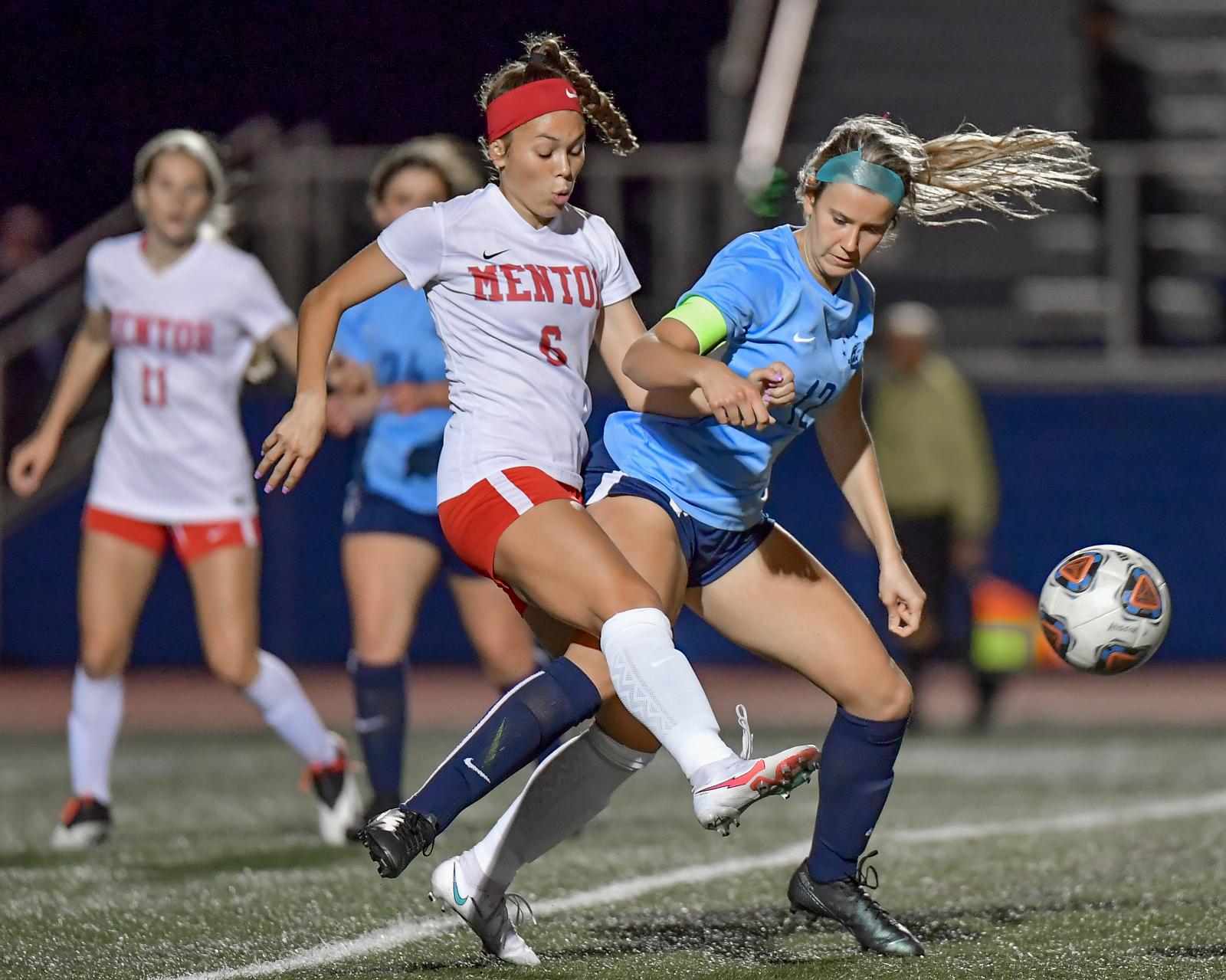 Images From Hudson Girls Soccer vs Mentor
