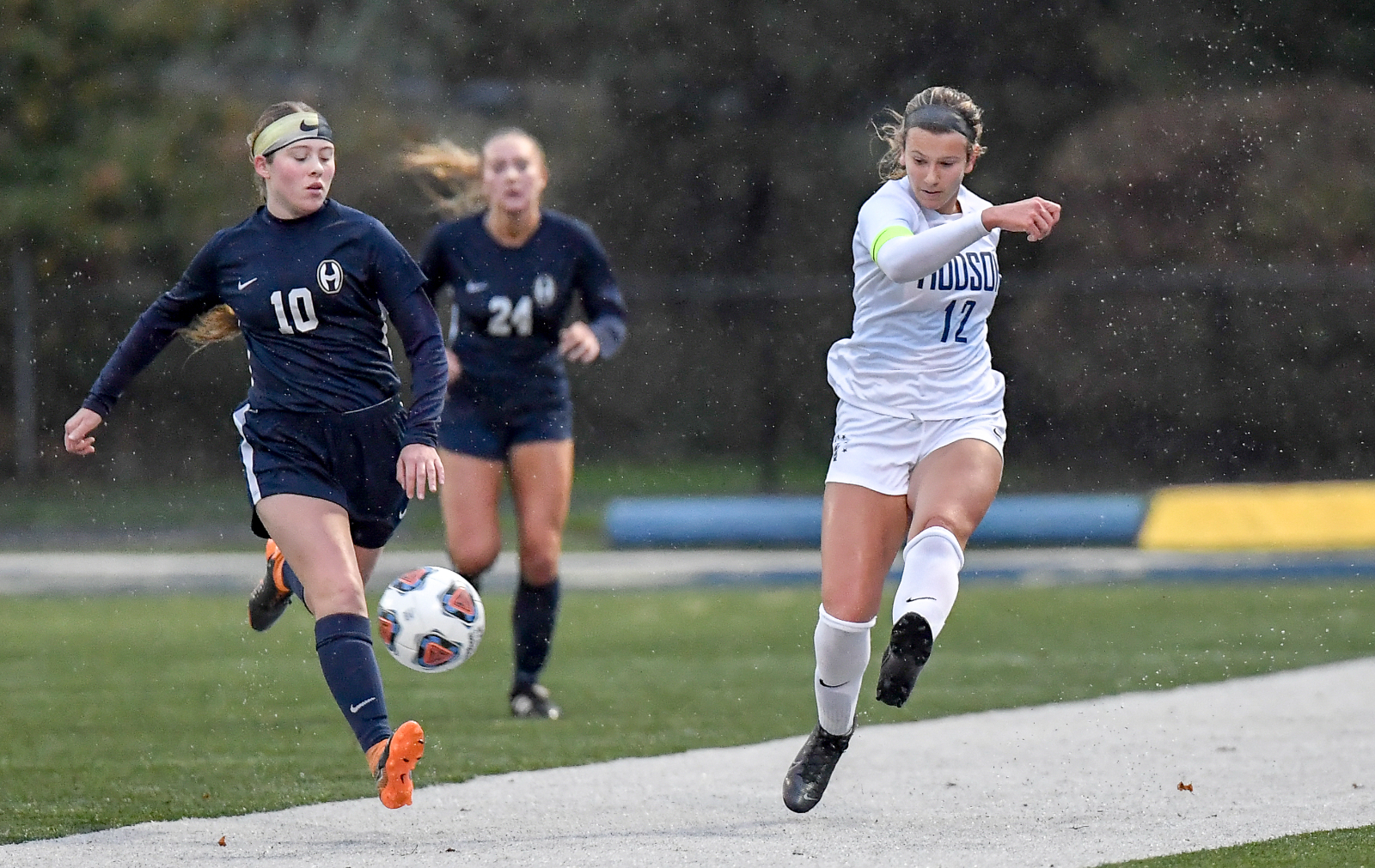 Images From Hudson Girls Soccer @ Hoban – Districts