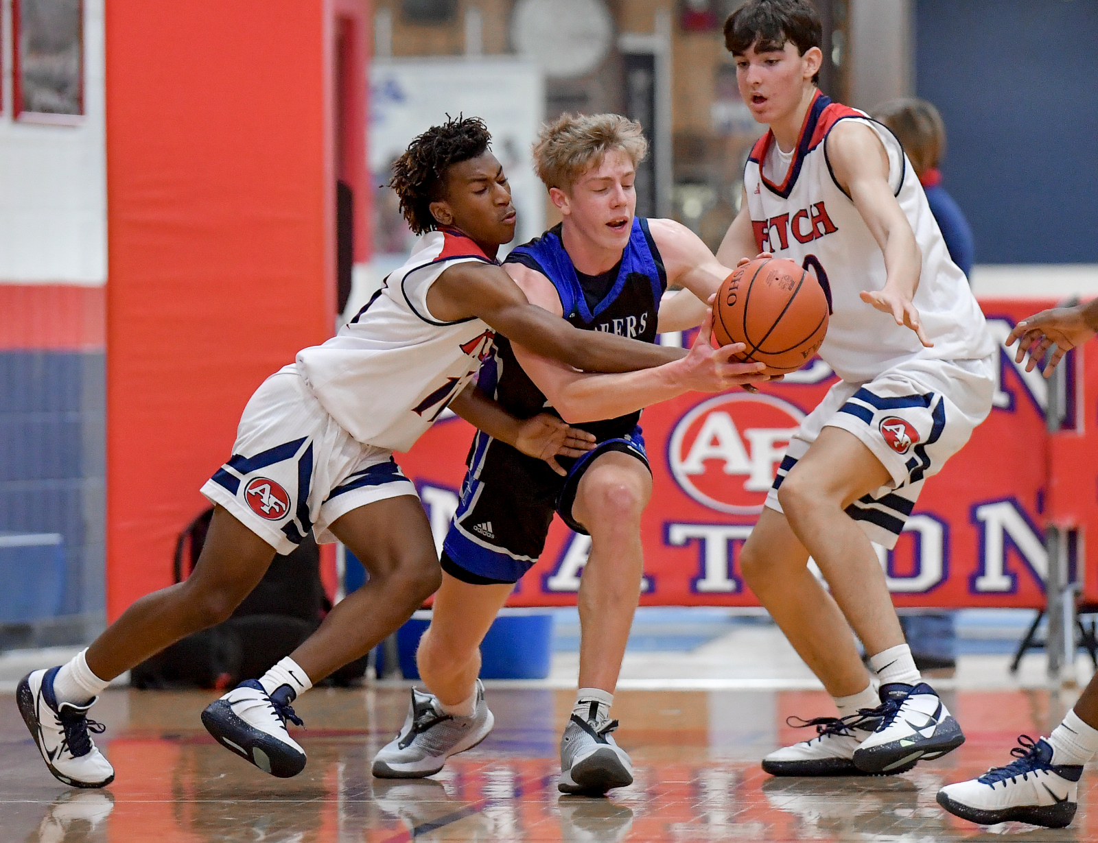 Images From Hudson Boys Basketball @ Austintown Fitch