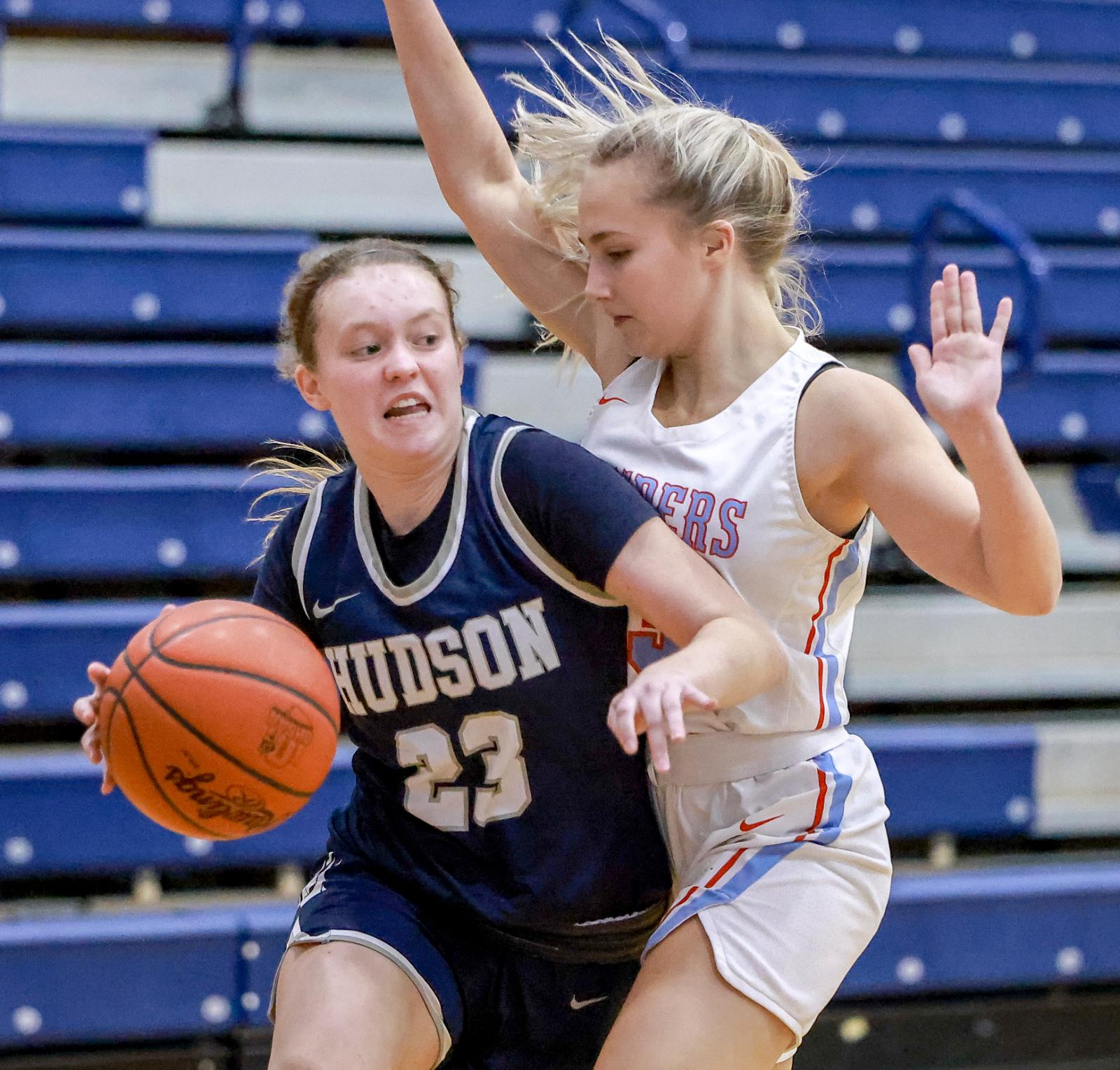 Images From Hudson Girls Basketball @ Kenston