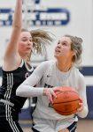 Girls Basketball defeats Hilltoppers in OT!