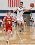 Boys' Basketball Falls to Brecksville-Broadview Hts
