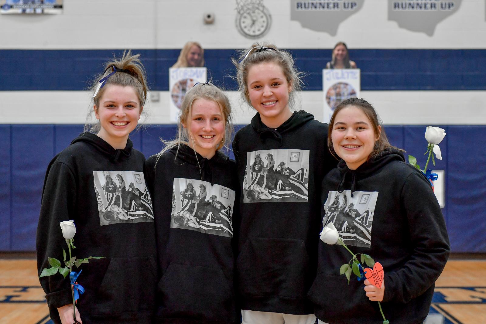 Images From Hudson Girls Basketball vs North Royalton – Senior Night