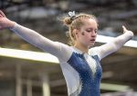 Gymnastics Finishes 1st in 3-team Meet at Lake Erie