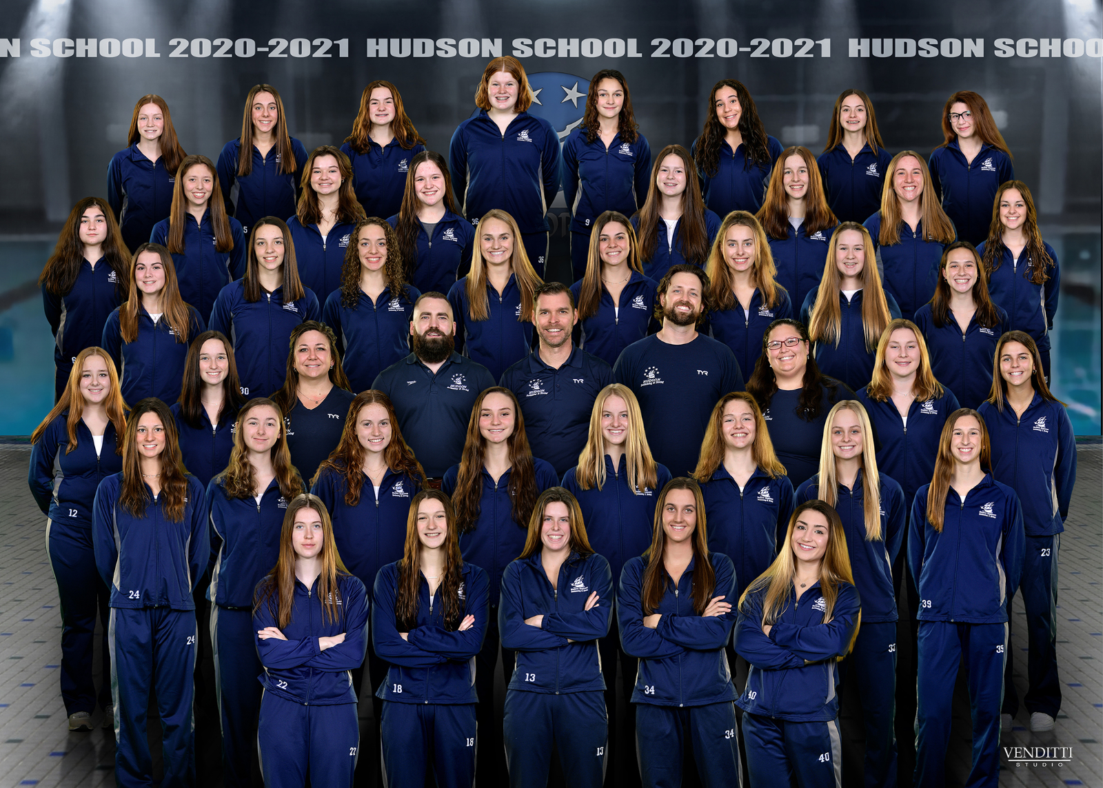 Girls Swimming & Diving 5th at State Meet