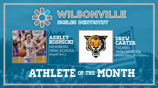 And the Wilsonville Smiles Dentistry December Athlete of the Month is….