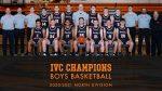 CONGRATULATIONS BOYS BASKETBALL – IVC CHAMPIONS