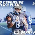 Congratulations BHS grad and former PAL Bay Division Offensive Player of the Year and CSM standout on earning a full scholarship to Cal Poly…..Go Panthers!