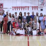 Girls Varsity Volleyball Senior Night