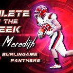 Athlete of the Week: Burlingame's Lucas Meredith