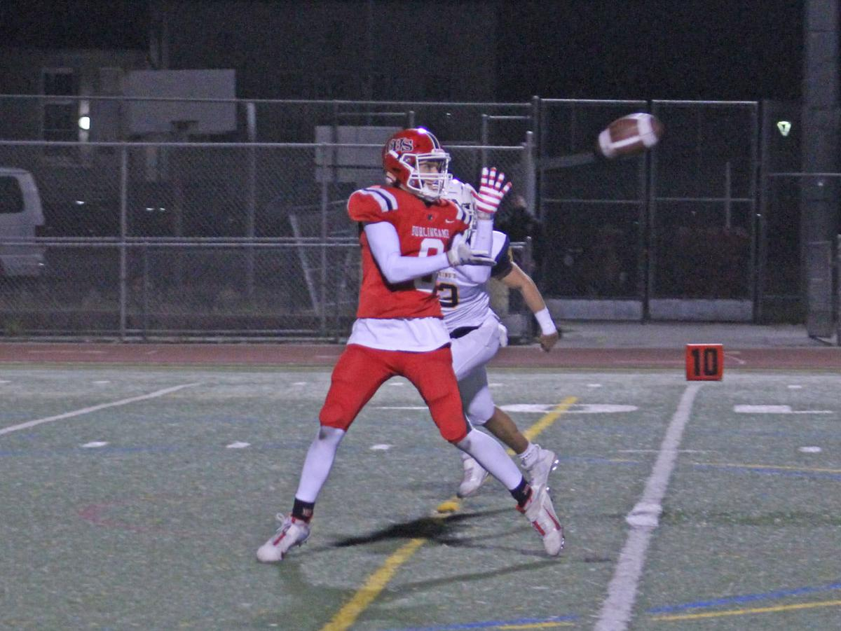Burlingame Panthers take pride in emotional football win over King's Academy