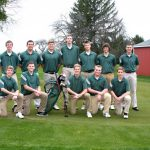 West Varsity Golf Finishes 7th at MHSAA Golf District Tournament