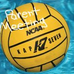 Boys Water Polo Parent Meeting