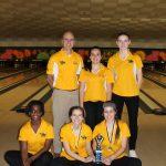 Zeeland West High School Girls Varsity Bowling finishes 1st place