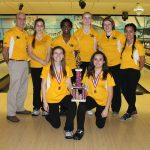 Zeeland West High School Girls Varsity Bowling finishes 2nd place